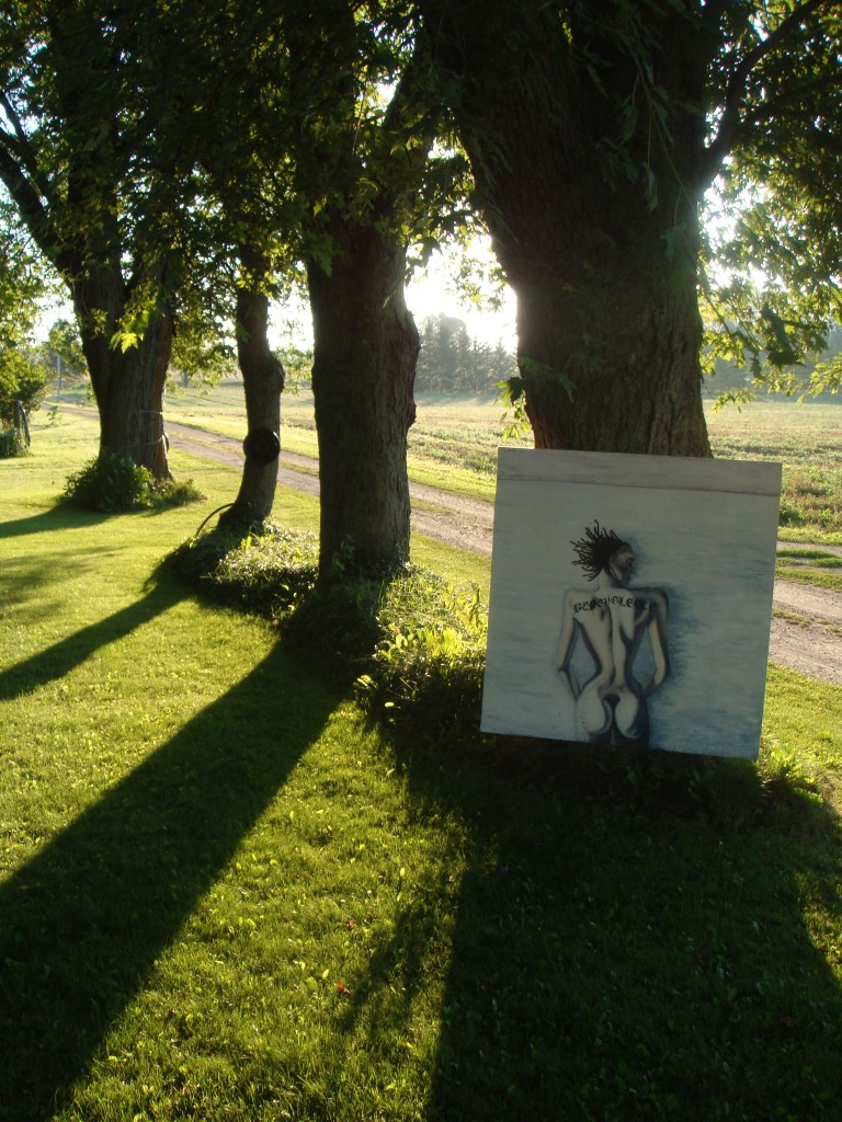 morning shadows - Benevolence 3 in Fergus by Catherine Black