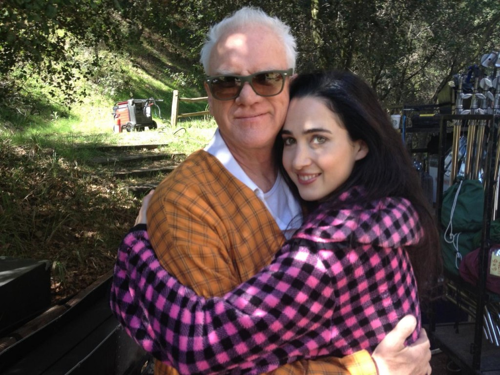 Catherine Black and Malcolm McDowell