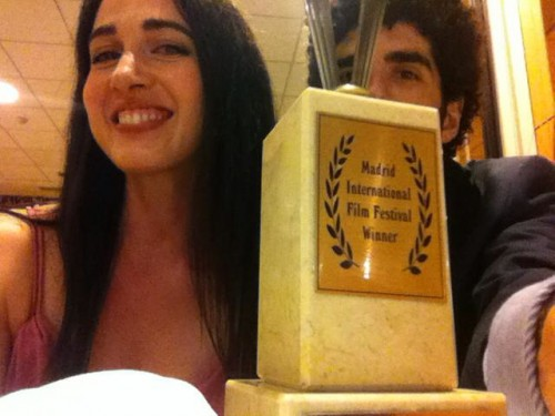 Producer Jason Stare and Filmmaker/Actress Catherine Black wins Best Lead Actress (De Puta Madre A Love Story) at 2014 Madrid International Film Festival.