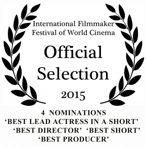 So honored to receive 4 award nominations in 4 categories for my 1st film as a filmmaker!